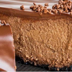 Chocolate Cheesecake Recipe.