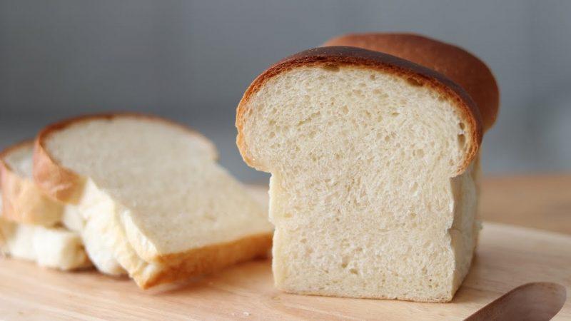 Eggless Milk Bread