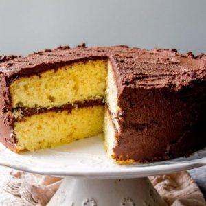 Fluffy Yellow Cake.