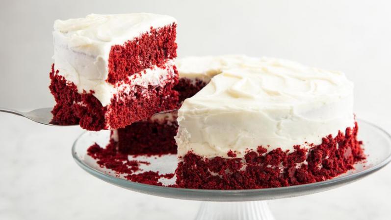 Southern Red Velvet Cake.