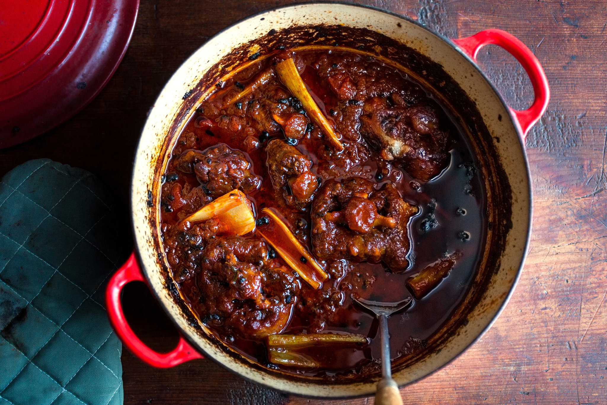 Jamaican Oxtail Stew.