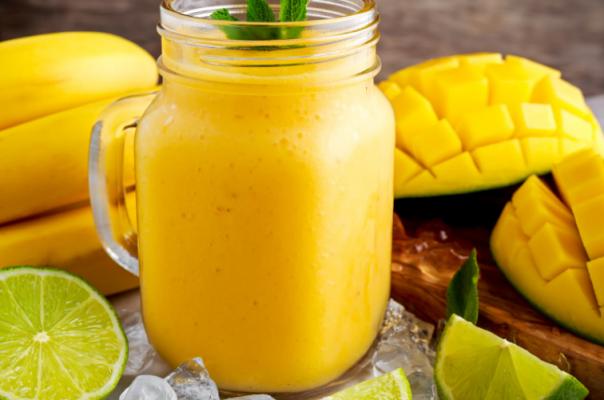 Mango Lime Smoothie