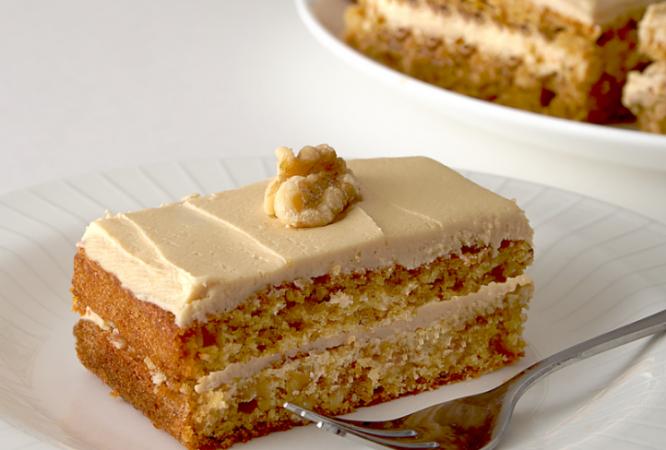 Coffee Walnut Cake Recipe