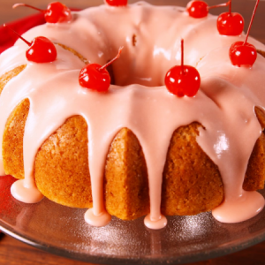 Shirley Temple Bundt Cake