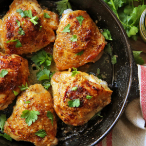 Deviled Chicken Thighs Is a Heavenly Chicken Recipe.
