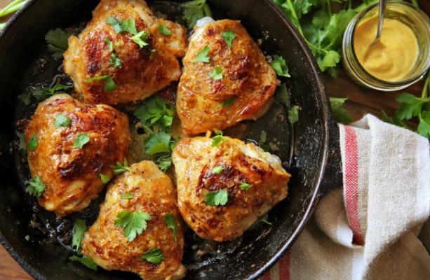 Deviled Chicken Thighs Is a Heavenly Chicken Recipe.