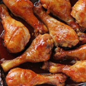The Easiest Oven-Baked Chicken Drumsticks.
