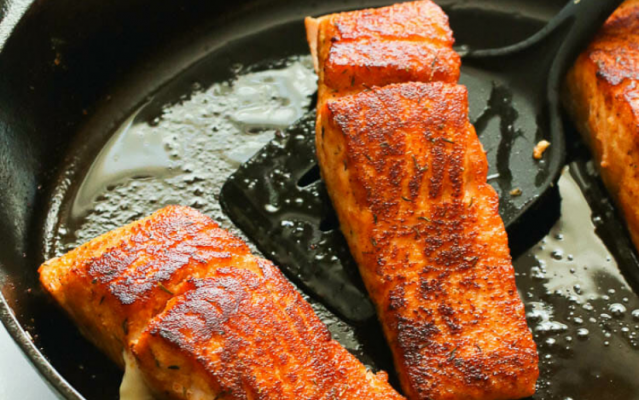 Pan-Seared Salmon, An Easy 15-Minutes Cook For Dinner