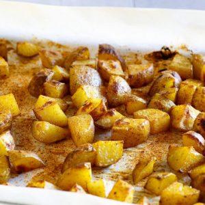 Seasoned Roasted Potatoes.