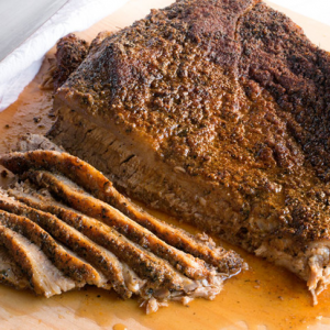 Tender and Delicious Oven-Roasted Beef Brisket.