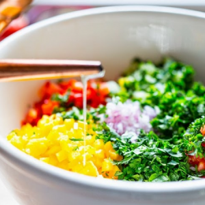 Israeli Salad is A Refreshing Chopped Salad