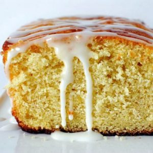 Lemon Butter Cake with Lemon Glaze