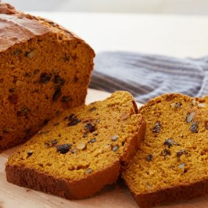 Pumpkin Bread Recipe.
