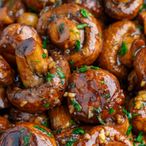 Garlic Butter and Roasted Mushrooms