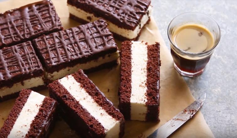 Chocolate Milk Slice