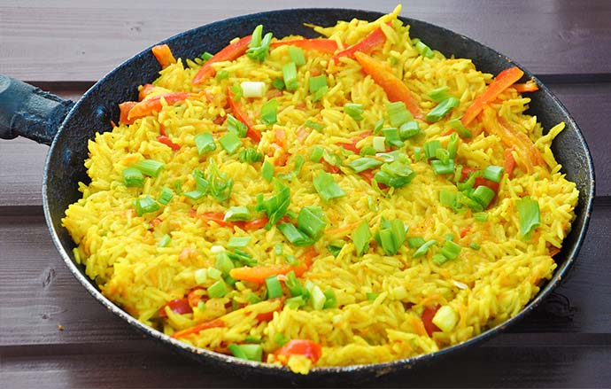 Curry Coconut Rice
