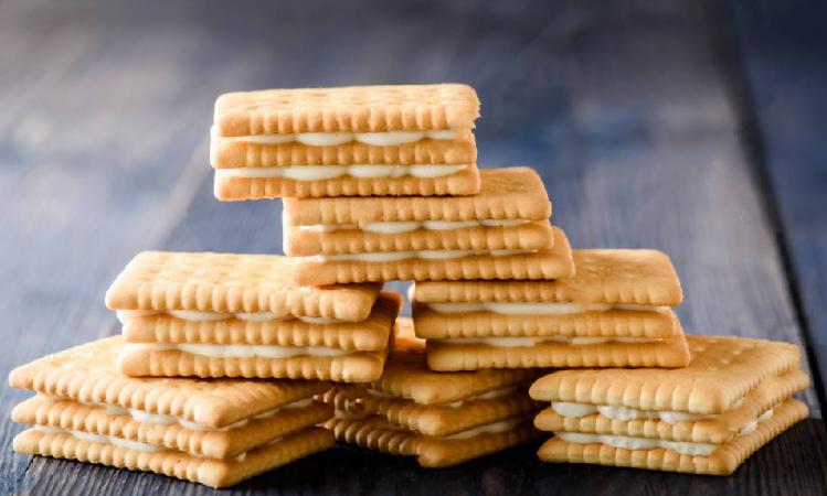 Vanilla Cream Sandwich Cookies
