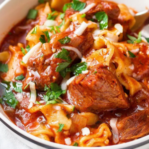 Classic Beef & Pasta Soup
