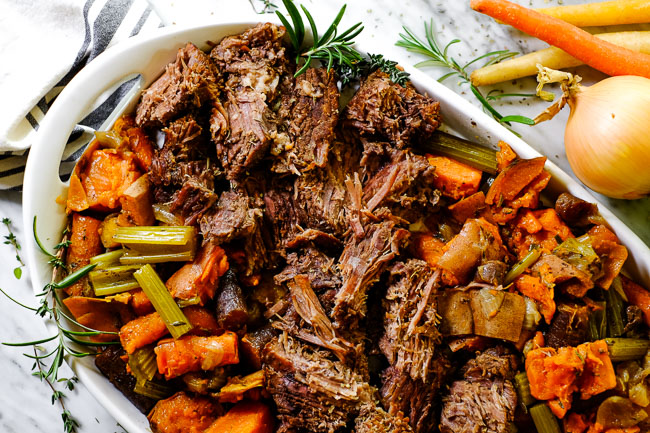 Slow Cooker Pot Roast Is A Perfect Weeknight Meal