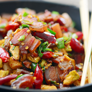 Stir Fry Pork Belly