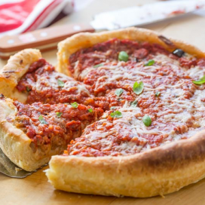 How To Make Chicago-Style Deep Dish Pizza.