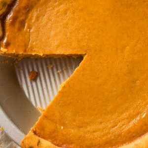 This Pumpkin Pie Is So Easy To Make.