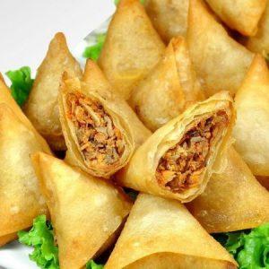Spicy Beef Samosa
