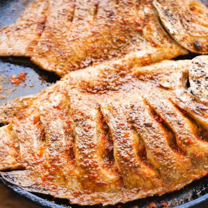 Barbecue Grilled Fish