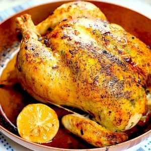 Herb and Lemon Roasted Chicken
