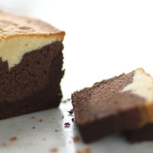 Three-Layer Pound Cake
