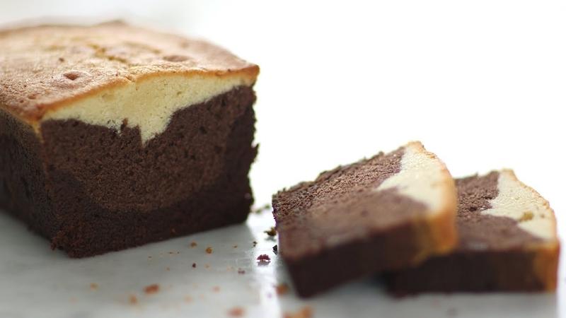 Three-Layer Pound Cake