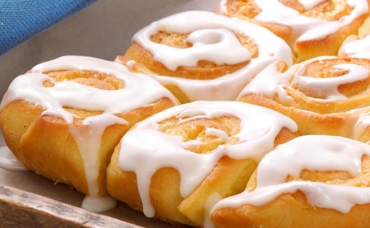 Glazed Orange Rolls