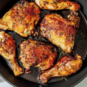 Easy Dinner With Balsamic Chicken