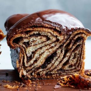 Chocolate Babka Cake