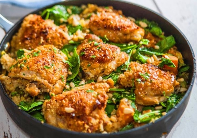 One Pot Lemon and Thyme Chicken