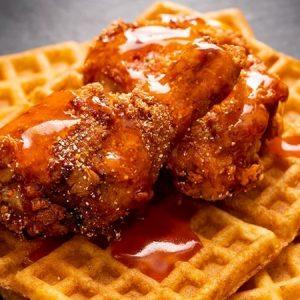 Spicy Honey Butter Fried Chicken