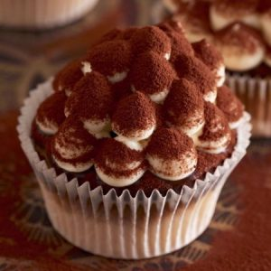 Soft and Dreamy Tiramisu Cupcakes
