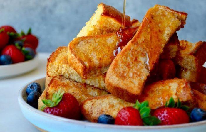 Baked French Toast Sticks