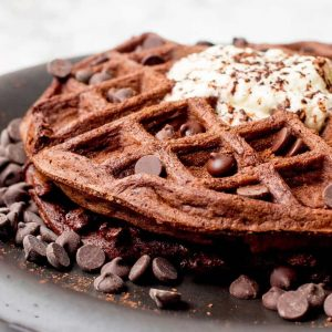 Chocolate Waffles are Perfect For Brunch