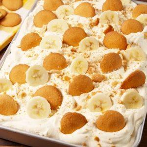 Creamy Sweet Banana Pudding