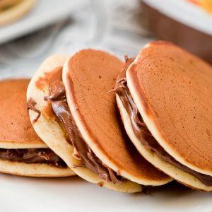 Japanese Dorayaki Pancakes