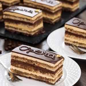 Irresistible Opera Cake