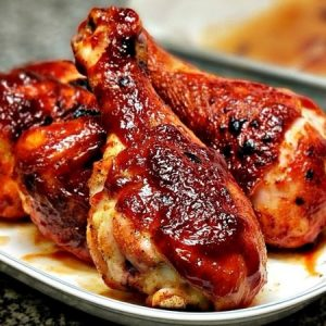 Easy Oven Baked BBQ Chicken