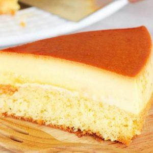 Caramel Custard Cake