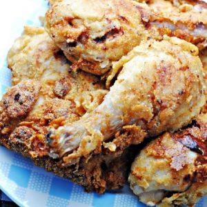 Crispy Spicy Fried Chicken