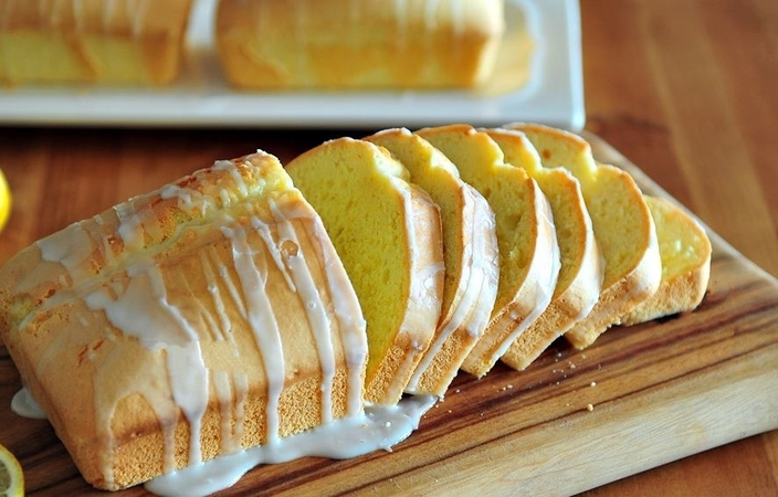 No Butter Lemon Pound Cake