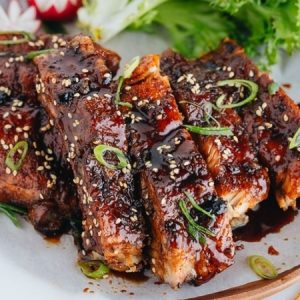 4 Ingredient Sticky Ribs