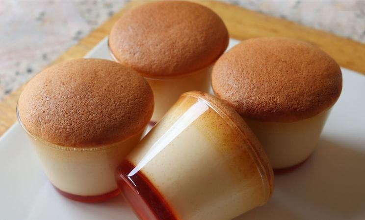 Custard Pudding Cake