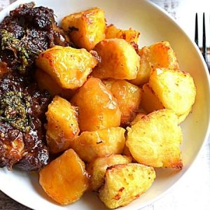 Roast Potatoes with Garlic and Herbs