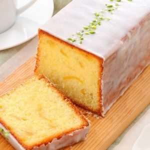 Lemon Frosted Pound Cake